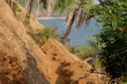Almost Paradise: Tageswaderung von Strand zu Strand südlich Gokarna.