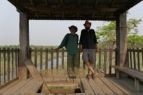 Tageswanderung im Bardia-Nationalpark, ist nur mit Ranger erlaubt. Sehr kurzweilig, Tulsi ist ein lustiger Zeitgenosse.