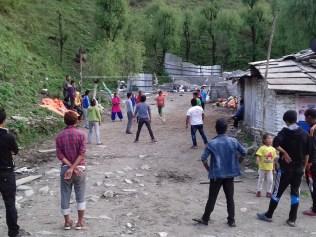 Neben Cricket allseits beliebter Breitensport in Nepal.