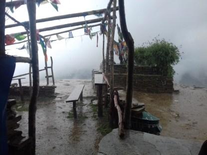 """Schlechtes Wetter ist selten, aber """"sometimes it happens"""", wie die Einheimischen gerne zu sagen pflegen."""