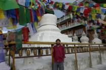 Hier sollen die sterblichen Überreste Namo Buddhas von seinen Eltern beigesetzt worden sein. Später wurde die Stupa an diesem Ort errichtet.