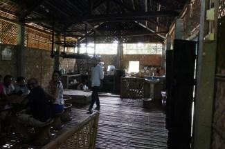 Küche im Bamboo-Haus von Gastgeber Monjit und Frau.