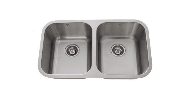 OU3118 8, Undermount, Double Bowl, Stainless Steel, Onex Enterprises, Kitchen Sink in Canada