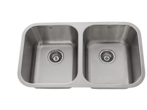 OU3118 8, Undermount, Double Bowl, Stainless Steel, Onex Enterprises, Kitchen Sink in Canada