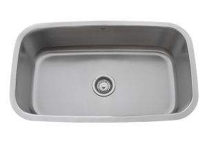 OUS3118 10, Single Bowl, Stainless Steel, Undermount, Kitchen Sink