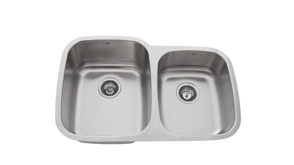 OU3220 9'7, Onex Enterprises, Uneven Double Bowl, Stainless Steel, Kitchen Sink in Canada