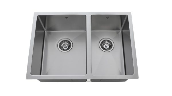 OU2618 SQR U, Uneven Double Bowl, Stainless Steel, Undermount, Onex Enterprises, Kitchen Sink in Canada