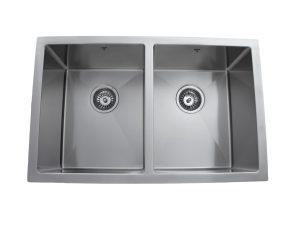 Designer, Double Bowl, Undermount, Stainless Steel, Onex Enterprises, Kitchen Sink in Canada