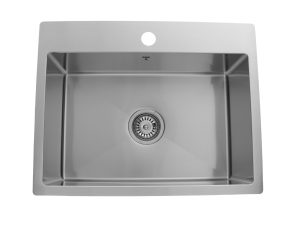 ODS2318 SQR R10, Stainless Steel, Single Bowl, Designer Collection, Onex Enterprises, Kitchen Sinks in Canada