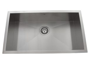 OUS3218 SQ, Single Bowl, Stainless Steel, Undermount Collection, Onex Enterprises, Kitchen Sink in Canada