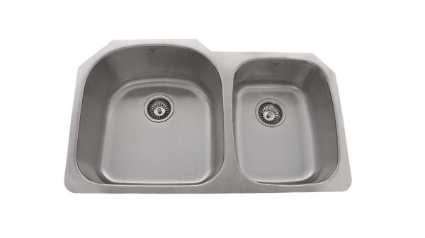 OU3320 9'7, Uneven, Double Bowl, Stainless Steel, Kitchen Sink from Onex Enterprises, Proud to Serve at various locations across Canada