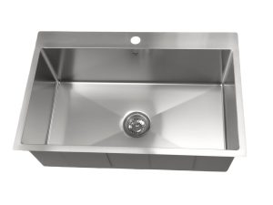 OD3120 SQR, Single Bowl, Stainless Steel, Drop In, Onex Enterprises, Kitchen Sink in Canada