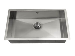OUS3219 SQ, Single Bowl, Stainless Steel, Undermount Collection, Onex Enterprises, Kitchen Sinks in Canada