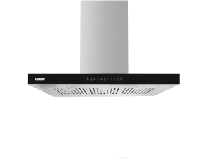 Island Hood Fan, Island Range Hood, Stainless Steel, Durable Range Hood, Tempered Glass Soft Touch Control Panel, Fume Hood, Kitchen Ventilation, Kitchen Ventilator