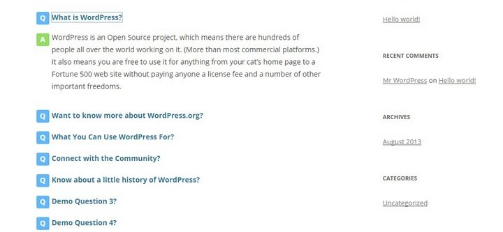 Fancy-FAQ Top 10 WordPress FAQ Plugins For Improving Customer Support