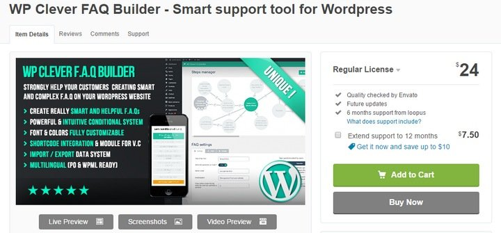 wp-clever-1 Top 10 WordPress FAQ Plugins For Improving Customer Support