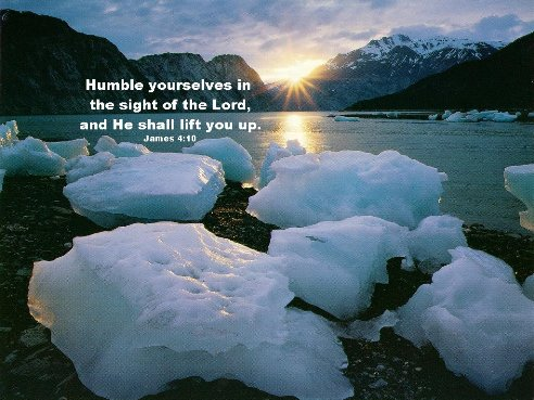 Humble Yourself In The Lord's Presence For His Presence Is Everywhere