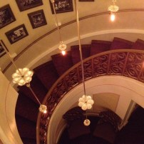 Escaliers d'accès