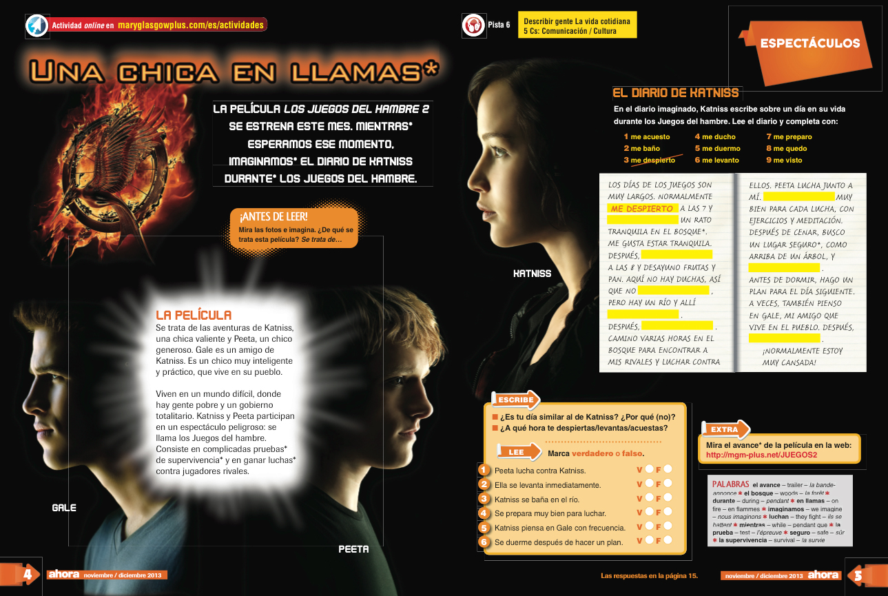 The Hunger Games Lessons Plans Hd