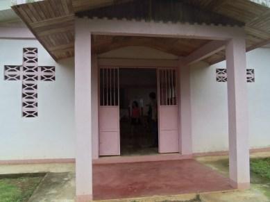 First church service in Costa Rica