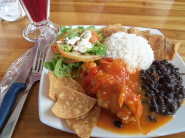 Typical Costa Rican dish