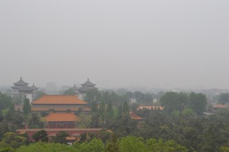 I spent an afternoon walking around jingshan park, which provides views of the Forbidden City.
