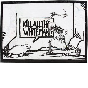 Dirk vorndamme | Kill all the white man