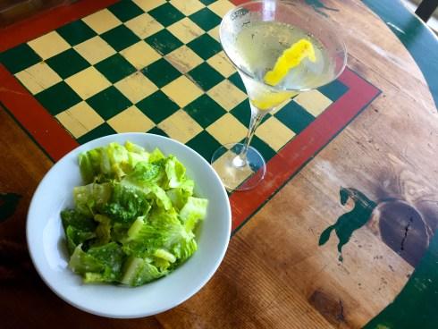 GS garlic salad
