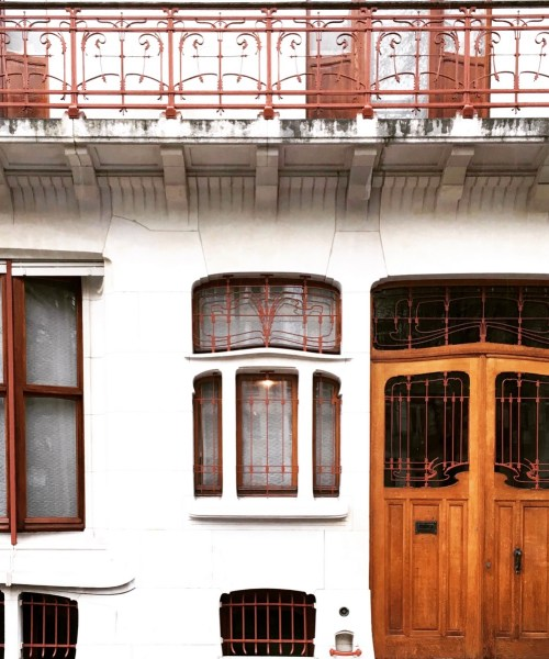 #ArtNouveau in #Brussels - visit of the Max Hallet house by @onfoodandwine