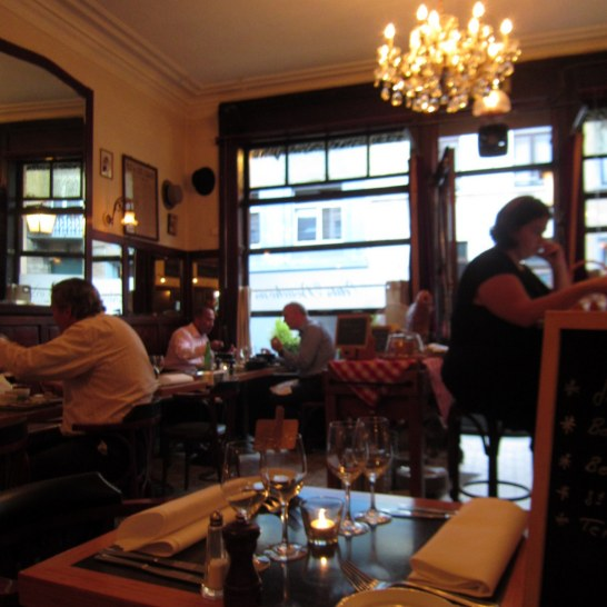 #restaurant review - dinner at Le 32 Bouchons in #Brussels by @onfoodandwine