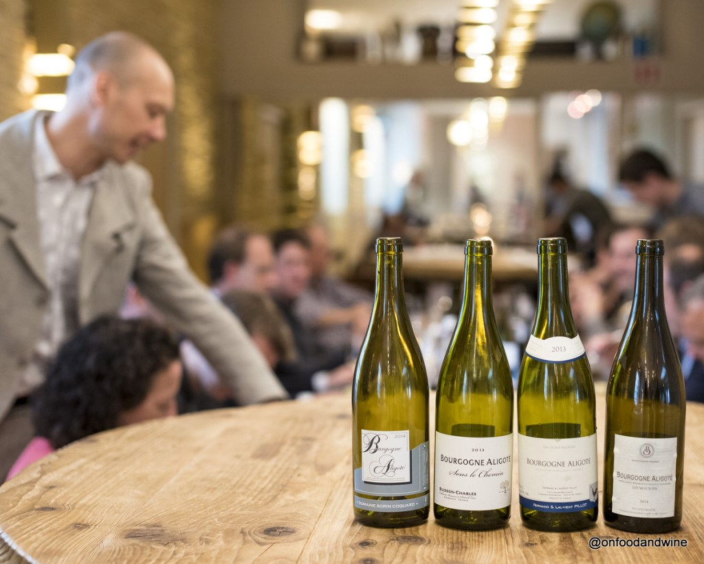 a delicious lunch paired with #Aligote wines from @BourgogneWines - review by @onfoodandwine