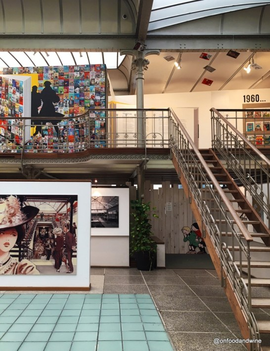 a visit to the Comic Art Museum in #Brussels by @onfoodandwine