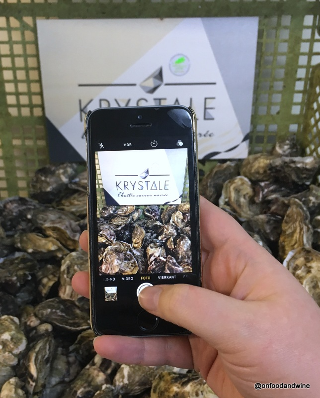 visiting Normandy oyster colonies for Carrefour Belgium (1)