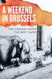 join @onfoodandwine on Pinterest for Brussels food & travel tips