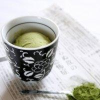 Matcha Ice Cream. Little Asian Twist.