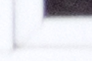 Интерполяция фрагмента центральной части с объективом Tokina на 300 мм