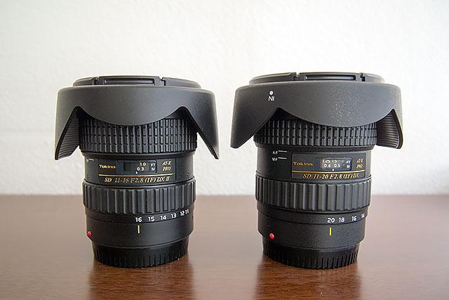Tokina AT-X 116 F2.8 PRO DX II (11-16mm) vs Tokina AT-X 11-20mm F2.8 PRO DX