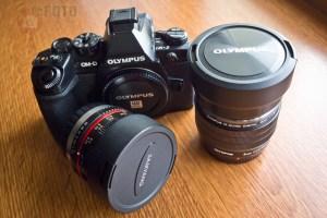Olympus OM-D E-M1 + Olympus ED 8mm f/1.8 Pro Fisheye M.Zuiko + Samyang 7.5mm f/3.5 UMC Fish-eye Micro 4/3