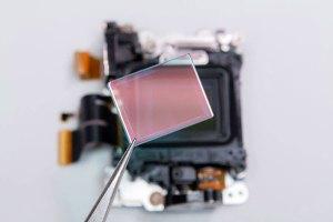 Снятие отсекающего ИК-префильтра с сенсора камеры