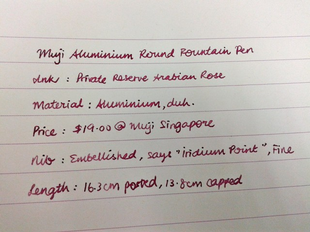 """My super small cursive handwriting. The first """"M"""" is only 3mm in height!"""