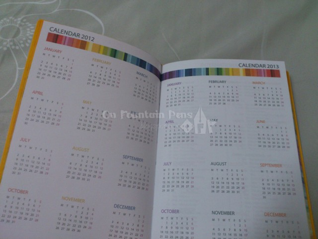 2012-2013 calendar. 2014 calendar on the next page too