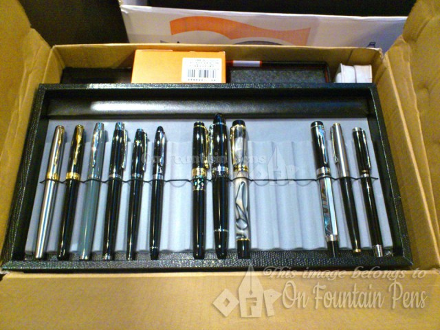 Sunny's pens which he got from China