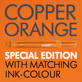 Lamy copper orange
