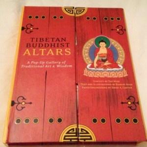 飛び出す仏様の本「Tibetan Buddhist Altars」。