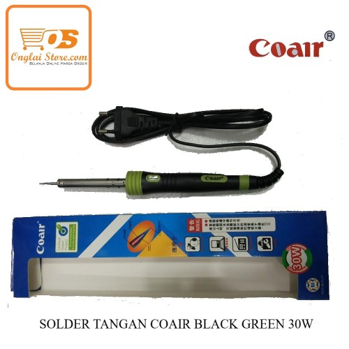 SOLDER TANGAN COAIR BLACK GREEN 30W-70046