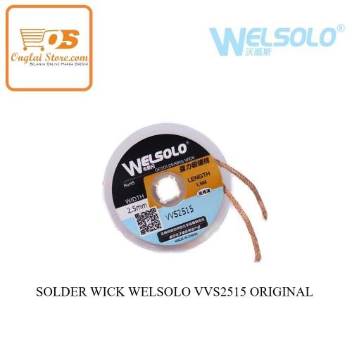 SOLDER WICK WELSOLO VVS2515 ORIGINAL (72182)