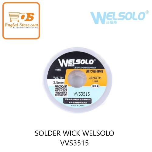 SOLDER WICK WELSOLO VVS3515 ORIGINAL (72184)
