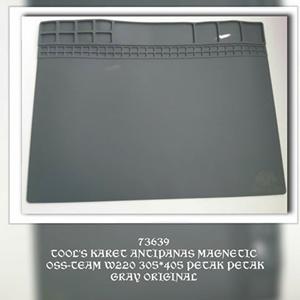 KARET ANTIPANAS MAGNETIC OSS-TEAM W220 305*405 PETAK PETAK GRAY ORIGINAL