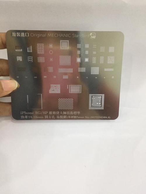 CETAKAN IC MECHANIC S20 IPHONE 8G/8P [34 IN 1] ORIGINAL