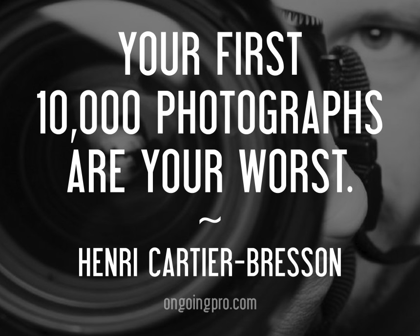 OnGoingPro   Photography Education   Photography Workshops 10 Inspiring Quotes from Famous Photographers to Share on Facebook